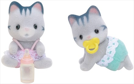 Gemelli Gatti Grigi - 2