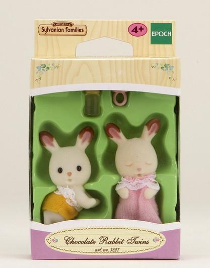 Gemelli conigli cioccolato - 3