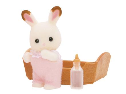 Sylvanian Family : Valisette bébé lapin : Poussette Sans marque  Magasin de
