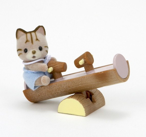Cat on See-Saw - 3