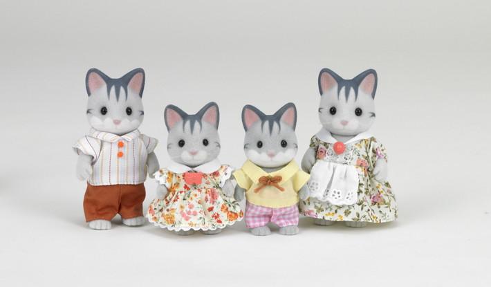 Gray Cat Family - 3