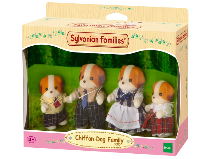 Chiffon Dog Family - 4