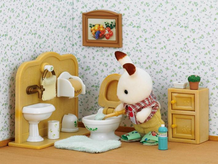 Schokoladenhasen Bruder mit Waschraum - 4