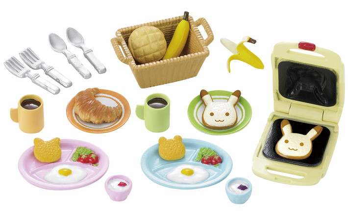 Sylvanian families catalogue girl s toy collection - Sylvanian families cuisine ...