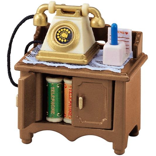 Телефон з тумбочкою