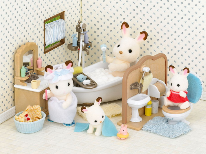 Country Bathroom Set Sylvanian Families