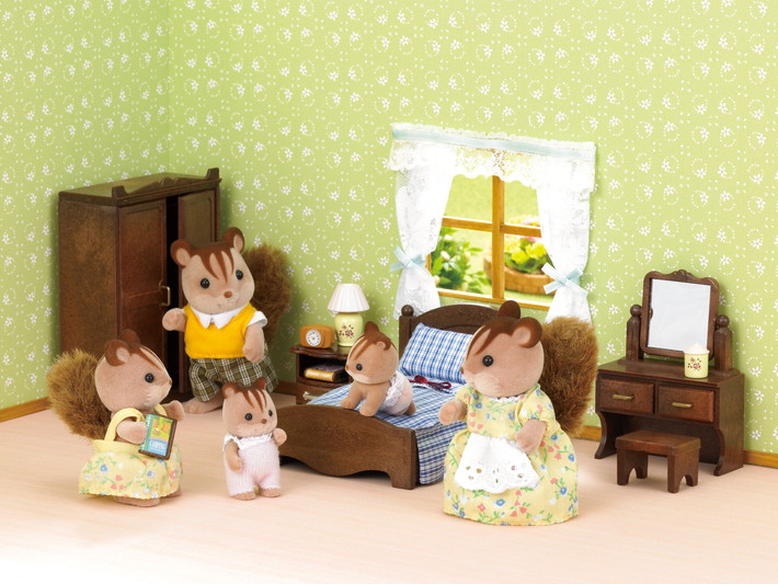 Chambre parents sylvanian families for Sylvanian chambre parents