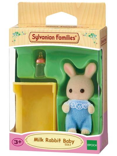 Milk Rabbit Baby Sylvanian Families