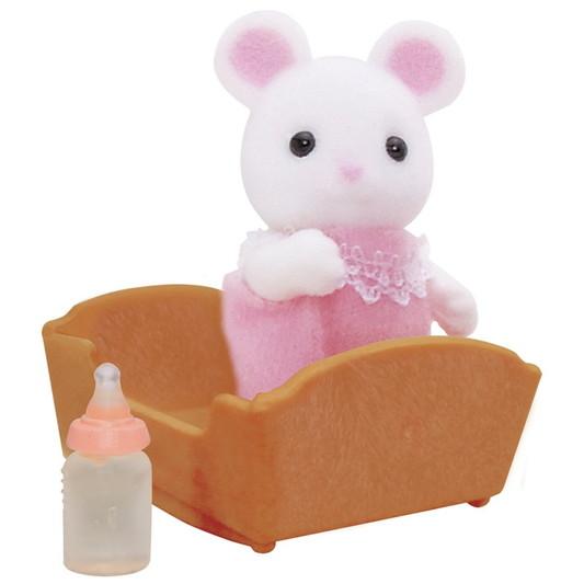 Weiße Mäuse Baby - 4