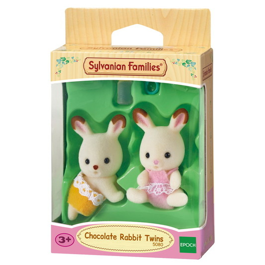 Chocolate Rabbit Twin Babies - 5