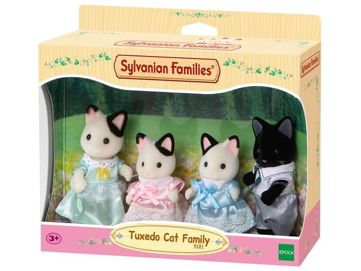 Sylvanian Families Tuxedo Cat Family Uk