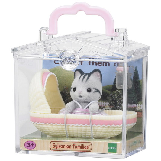 Baby Carry Case (Cat in Cradle) - 2