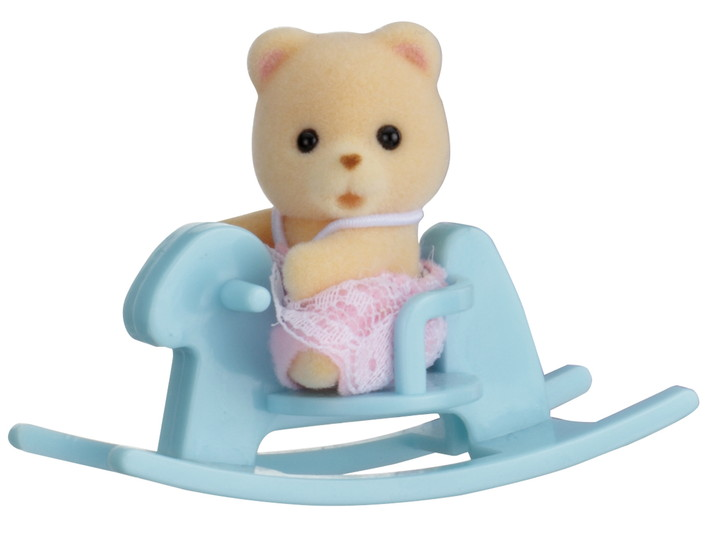 Baby Carry Case (Bear on Rocking Horse) - 1