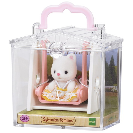 Baby Carry Case (Cat on Swing) - 2