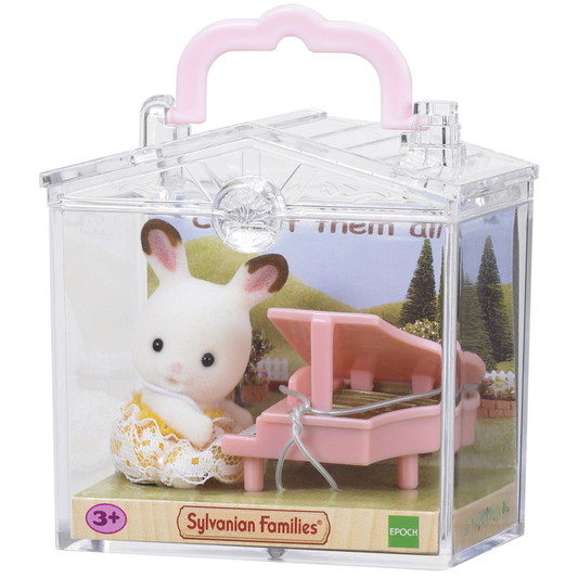 Baby Carry Case (Rabbit with Piano) - 2