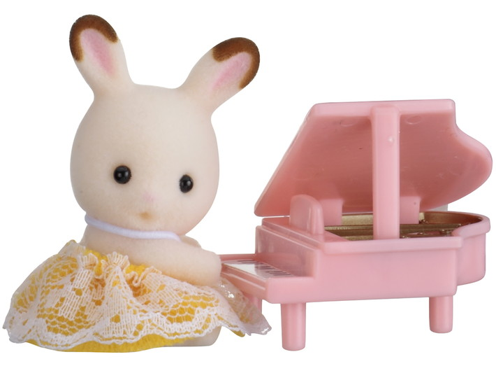 Baby Carry Case (Rabbit with Piano) - 1