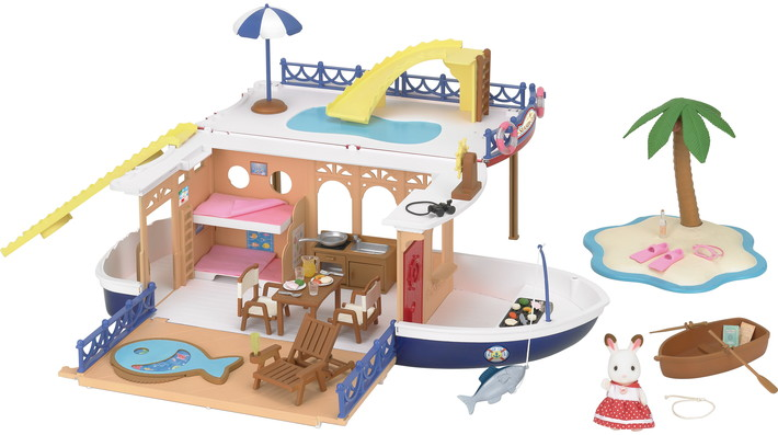 Seaside Cruiser House Boat - 1