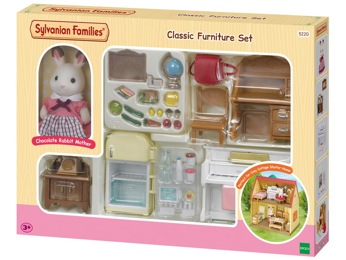 Classic Furniture Set -for Cosy Cottage Starter Home- - 1