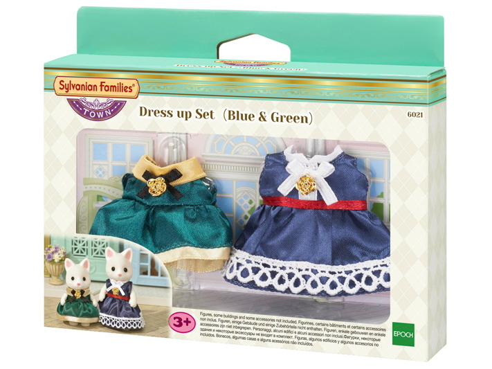 Dress up Set (Blue & Green) - 5
