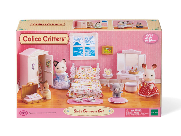 Girl's Lavender Bedroom Set - 8