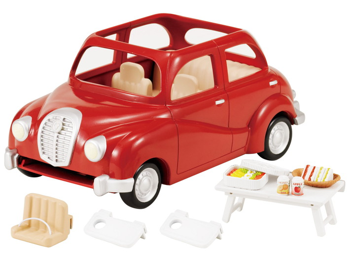 VOITURE ROUGE - 7