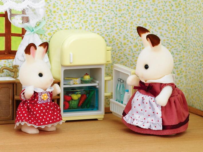 초콜릿 토끼 엄마 & 냉장고 - 4