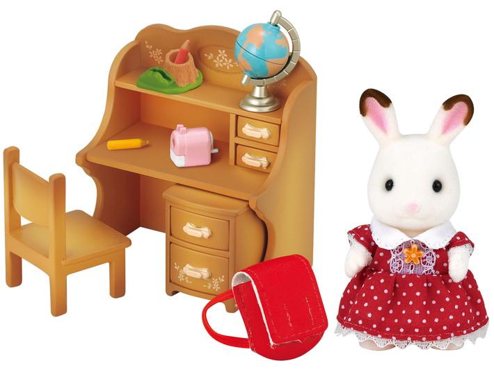 초콜릿 토끼  소녀 & 책상 - 4