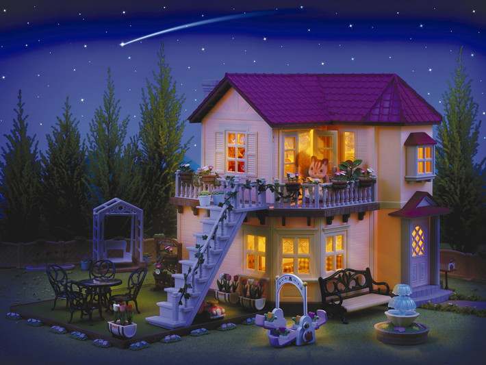 City House with Lights Gift Set D - 10