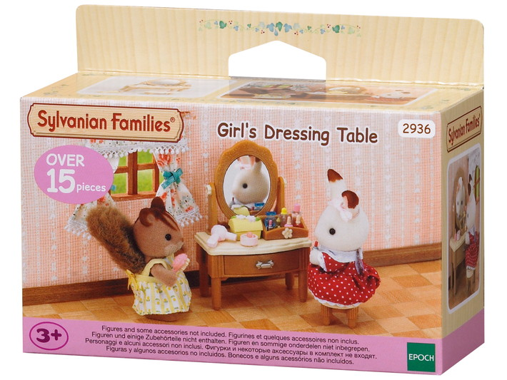 Coiffeuse sylvanian families for Sylvanian families beauty salon dressing table