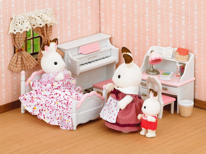 Set chambre fille sylvanian families for Sylvanian chambre parents