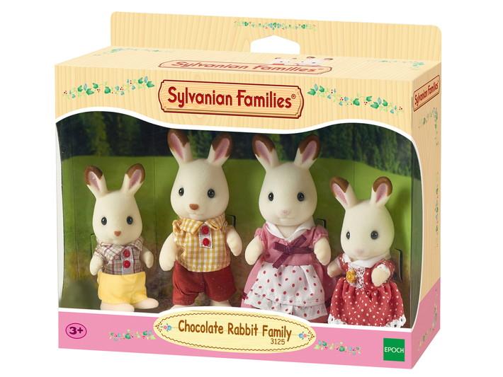 FAMILLE LAPIN CHOCOLAT  - 7