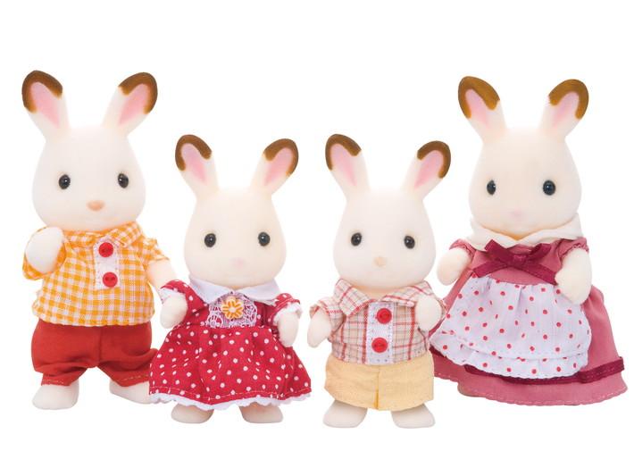 초콜릿 토끼 가족