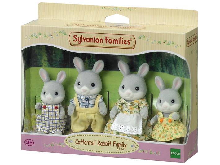 Famiglia Conigli Cottontail - 4