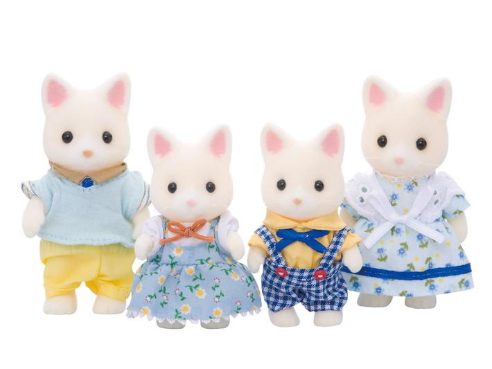 실크 고양이 가족