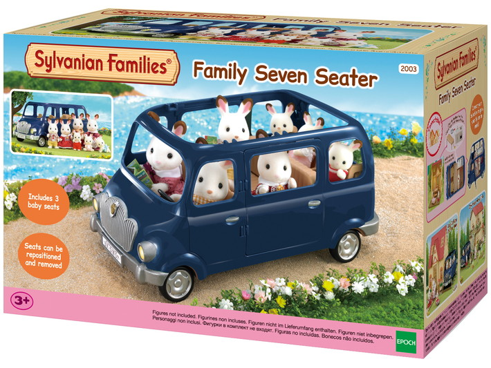 monospace 7 places sylvanian families. Black Bedroom Furniture Sets. Home Design Ideas
