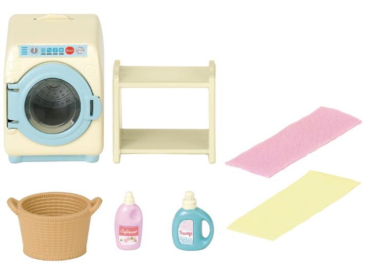 set machine a laver sylvanian families. Black Bedroom Furniture Sets. Home Design Ideas