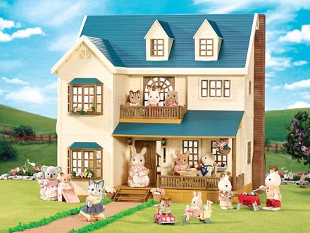 Deluxe Village House Sylvanian Families