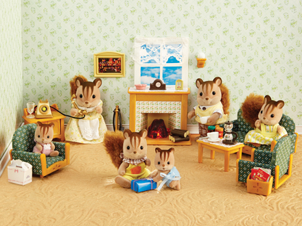 deluxe living room set calico critters. Black Bedroom Furniture Sets. Home Design Ideas