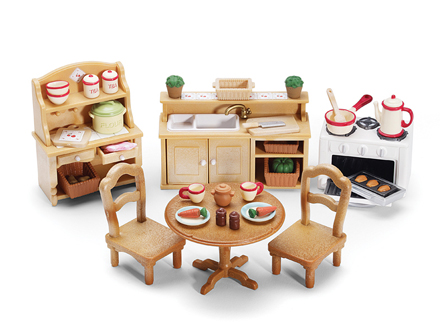 Calico Critters Kitchen Set Accessories