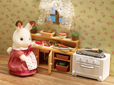 Calico Critters Kitchen Table