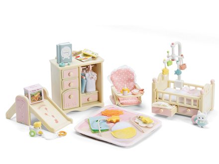 Baby S Nursery Set|calico Critters