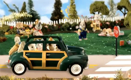 The Buttercup Family's Convertible Coupe