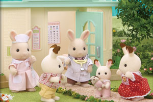 Ngày của những đứa bé Chocolate Rabbit tại bác sĩ