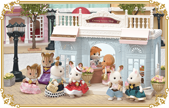 Maple Cat Mother's delicious gelato is very popular! There are many people in front of the store every day.