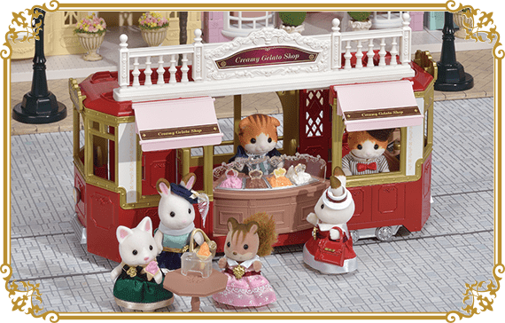 """You can connect the """"Ride on Tram"""" with the Gelato Shop."""