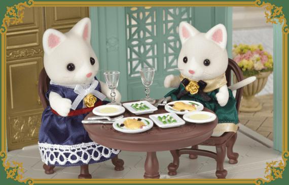 Разнообразные блюда очень изысканы, и такой ужин придется по вкусу жителям Сильвании.