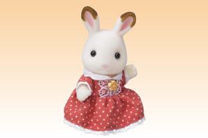 ショコラウサギの女の子