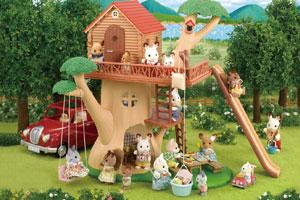 にぎやかツリーハウス