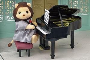 街の音楽会セット-グランドピアノ-