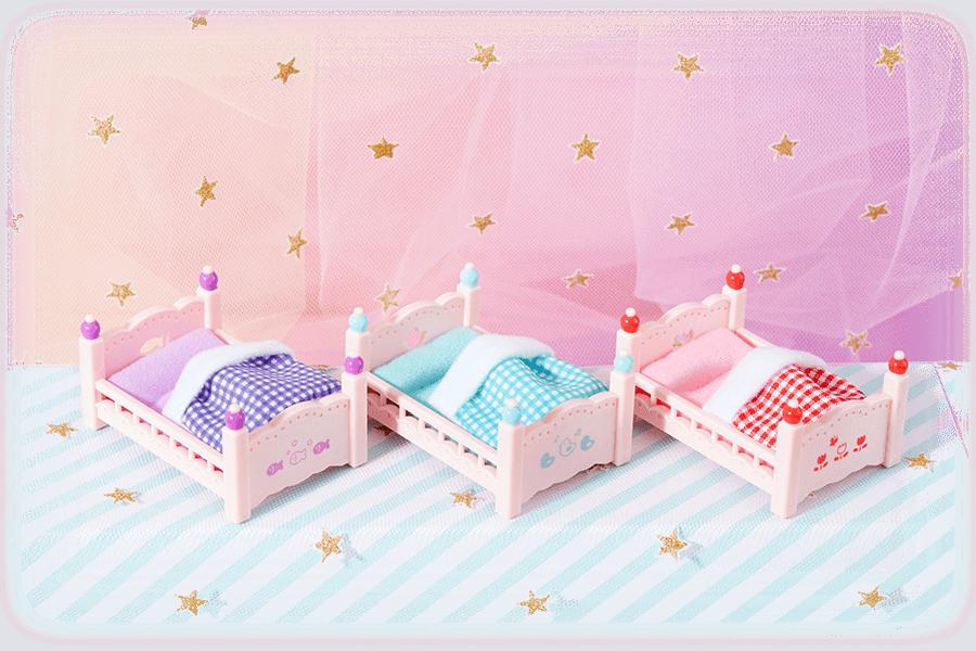 D賞 赤ちゃんベッド~ゆめふわVer.~ 選べる全3種